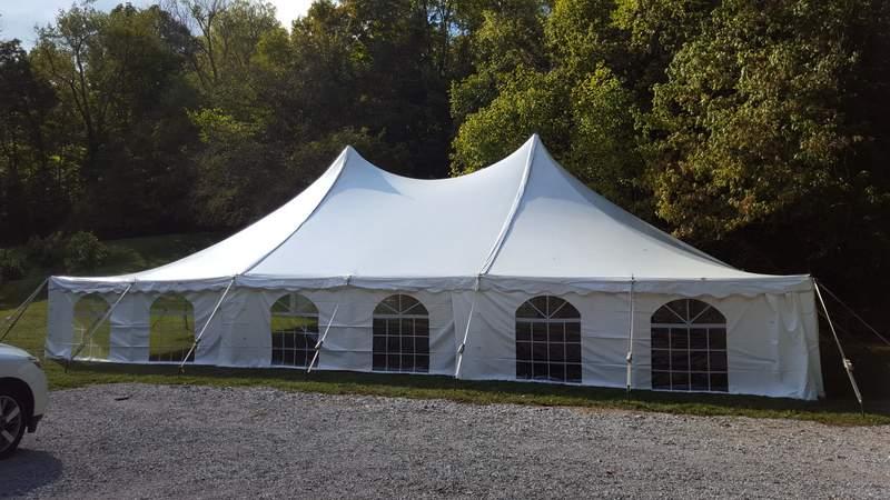 40x60 Century Tent with Window Walls