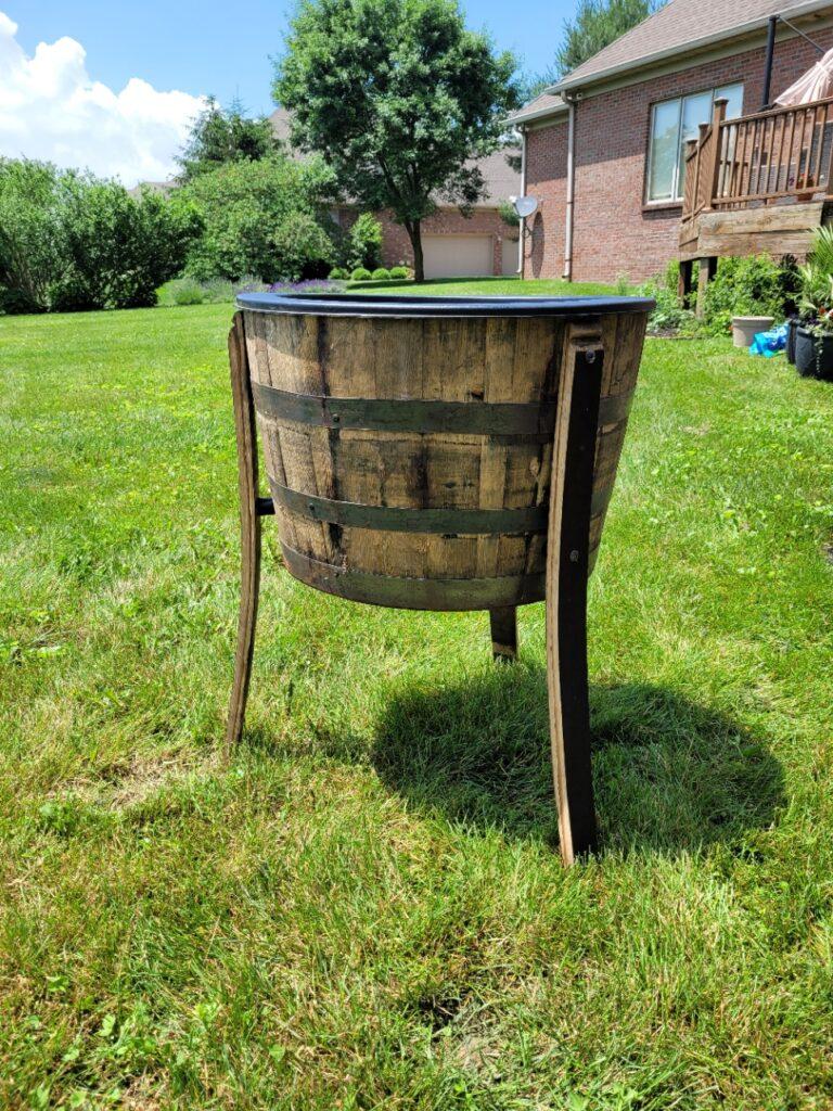 Bourbon Barrel Ice Barrel